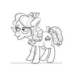 How to Draw Apple Rose from My Little Pony - Friendship Is Magic