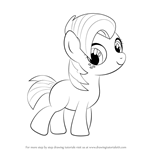 How to Draw Babs Seed from My Little Pony: Friendship Is Magic