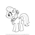 How to Draw Coco Pommel from My Little Pony - Friendship Is Magic
