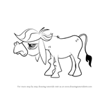 How to Draw Cranky Doodle Donkey from My Little Pony - Friendship Is Magic