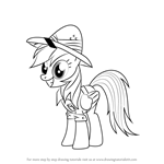 How to Draw Daring Do from My Little Pony - Friendship Is Magic