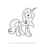 How to Draw Fleur Dis Lee from My Little Pony - Friendship Is Magic