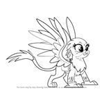 How to Draw Gabby from My Little Pony - Friendship Is Magic