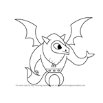 How to Draw Gargoyle from My Little Pony - Friendship Is Magic
