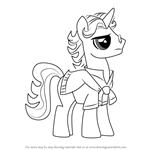 How to Draw Jet Set from My Little Pony - Friendship Is Magic