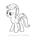 How to Draw Lightning Dust from My Little Pony - Friendship Is Magic