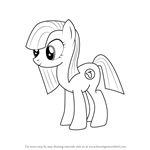 How to Draw Marble Pie from My Little Pony - Friendship Is Magic