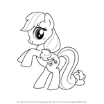 How to Draw Minty from My Little Pony - Friendship Is Magic