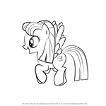 How to Draw Night Glider from My Little Pony - Friendship Is Magic