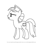 How to Draw Nurse Redheart from My Little Pony - Friendship Is Magic