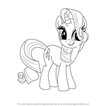 How to Draw Rarity from My Little Pony: Friendship Is Magic