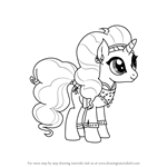 How to Draw Saffron Masala from My Little Pony - Friendship Is Magic