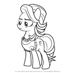 How to Draw Spoiled Rich from My Little Pony - Friendship Is Magic