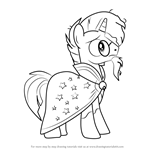 How to Draw Sunburst from My Little Pony - Friendship Is Magic