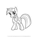 How to Draw Sweetcream Scoops from My Little Pony - Friendship Is Magic