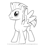 How to Draw Thunderlane from My Little Pony - Friendship Is Magic