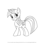How to Draw Twilight Sparkle from My Little Pony: Friendship Is Magic