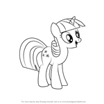 How to Draw Twilight Velvet from My Little Pony - Friendship Is Magic