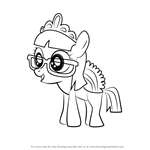 How to Draw Zipporwhill from My Little Pony - Friendship Is Magic
