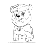 How to Draw Jim Gaffigan from PAW Patrol