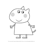 How to Draw Daisy Dog from Peppa Pig