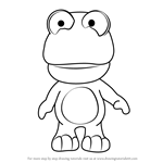 How to Draw Crong from Pororo the Little Penguin