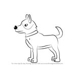How to Draw Brutus from Pound Puppies