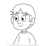 How to Draw Charlie from Pound Puppies