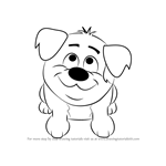 How to Draw Chubbers from Pound Puppies