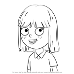 How to Draw Emily from Pound Puppies