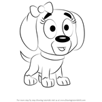 How to Draw Nutmeg from Pound Puppies
