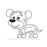 How to Draw Pooches from Pound Puppies