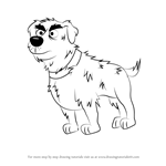 How to Draw Stain from Pound Puppies