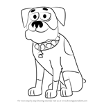 How to Draw Tyson from Pound Puppies