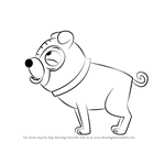 How to Draw Zoltron from Pound Puppies