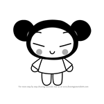 How to Draw Pucca from Pucca