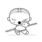 How to Draw Ssoso from Pucca