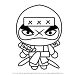 How to Draw Tobe from Pucca