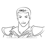 How to Draw Cardin Winchester from RWBY