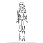 How to Draw Emerald Sustrai from RWBY