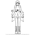 How to Draw Ruby Rose from RWBY