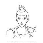 How to Draw Russel Thrush from RWBY