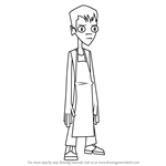 How to Draw Brent from Randy Cunningham - 9th Grade Ninja
