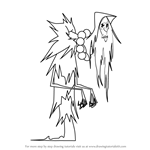 How to Draw The Sorceress from Randy Cunningham - 9th Grade Ninja