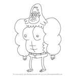 How to Draw Skips from Regular Show