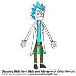 How to Draw Rick from Rick and Morty