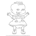How to Draw Lil DeVille from Rugrats