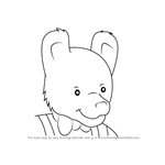 How to Draw Mr. Bear from Rupert
