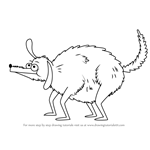 How to Draw Barfy from Sanjay and Craig