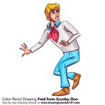 How to Draw Fred from Scooby-Doo